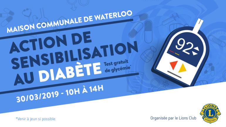 Action de dépistage du diabète